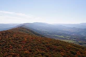 North Fork Mountain - Image: The north fork mountain trail