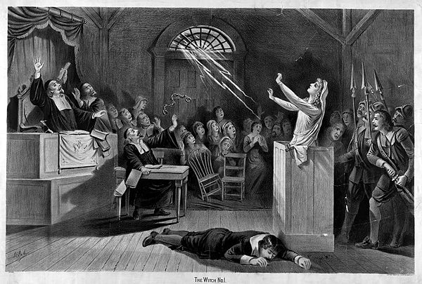 &quotThe Witch, No. 1&quot, c. 1892 lithograph by Joseph E. Baker - Witch trials in the early modern period