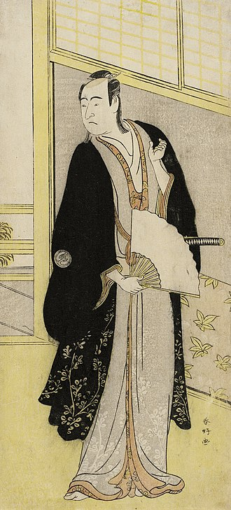 Katsukawa Shunkō I - Image: The Actor Sawamura Sojuro III LACMA M.71.100.102