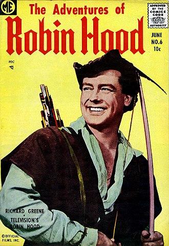 Richard Greene - Image: The Adventures of Robin Hood, Vol. 1, No. 6