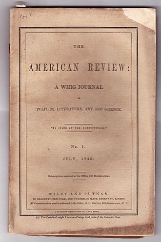 "Eulalie - ""Eulalie"" appeared in The American Review, July, 1845, Wiley and Putnam, New York."