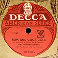 The Andrew Sisters. Rum and Coca-Cola.jpg