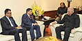 The Attorney General, Minister for Public Service, Finance, Public Enterprises, Civil Aviation and Information of Fiji, Mr. Aiyaz Sayed Khaiyum meeting the Union Minister for Civil Aviation (1).jpg