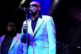 The Blind Boys of Alabama - The Blind Boys of Alabama performing at the West Coast Blues & Roots Festival in 2011
