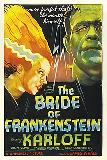 <i>Bride of Frankenstein</i> 1935 American science-fiction horror film by James Whale