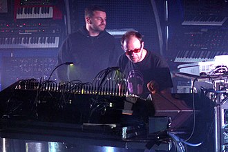 The Chemical Brothers - The Chemical Brothers performing live in Barcelona, Spain in 2007.
