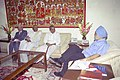 The Chief Minister of Andhra Pradesh, Dr. Y.S. Rajasekhara Reddy meeting with the Deputy Chairman, Planning Commission Dr. Montek Singh Ahluwalia to finalize Annual Plan 2005-06 of the State, in New Delhi on April 7, 2005.jpg