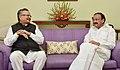 The Chief Minister of Chhattisgarh, Dr. Raman Singh calling on the Vice President, Shri M. Venkaiah Naidu, in New Delhi on August 11, 2017 (1).jpg