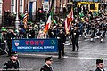 The FDNY EMS Pipes and Drums Band Took Part In The New York Parade On Sunday And Then Jetted To Dublin To March In Dublin On Sunday (8566206960).jpg