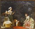 The First Steps, by Jean-Honore Fragonard and Marguerite Gerard, c. 1780-1785, oil on canvas - Fogg Art Museum, Harvard University - DSC02003.jpg
