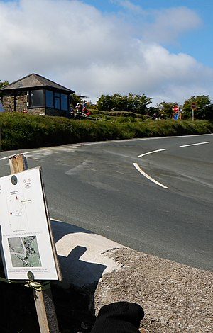 Gooseneck, Isle of Man - Uphill aspect in 2015