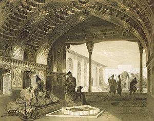 Ottoman–Safavid War (1603–18) - The interior of the Yerevan Castle