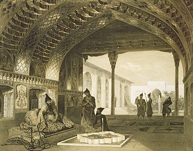The Hall of Mirrors in the Palace of the Sardar.jpg