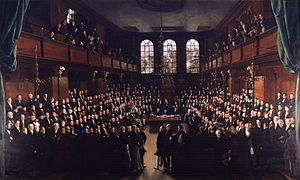 The House of Commons, 1833 by Sir George Hayter.jpg