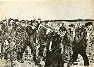 Käthe Kollwitz - The March of the Weavers in Berlin