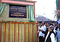 The Minister of State for Information and Broadcasting, Shri Chowdhury Mohan Jatua unveiling the plaque to lay the foundation stone for the New Line between Jaynagar Majilpur and Raidighi, in West Bengal on December 12, 2009.jpg