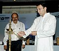The Minister of State for Steel, Shri Jitin Prasada lighting the lamp to inaugurate a seminar on e-commerce, its future growth and emerging trends and opportunities, in New Delhi on June 26, 2008.jpg