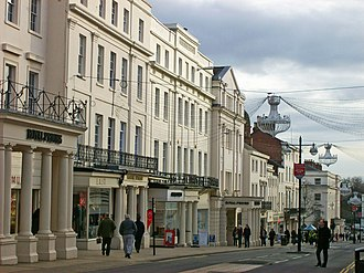 Leamington Spa - Image: The Parade, Leamington 1