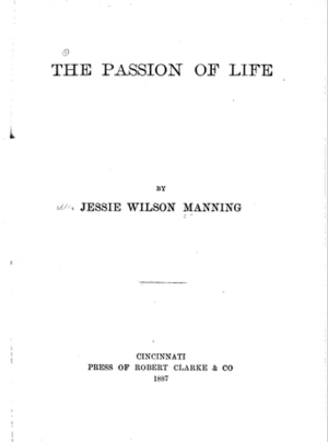 The passion of life - First edition frontispiece