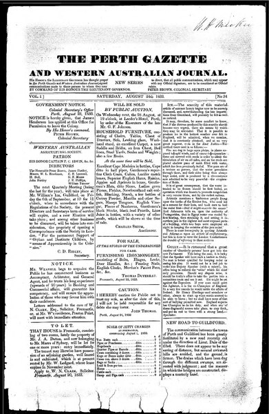 File:The Perth Gazette and Western Australian Journal 1(34).djvu