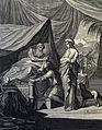The Phillip Medhurst Picture Torah 141. Isaac blessing Jacob. Genesis cap 27 vv 22&29. Caspar Luyken.jpg
