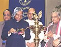 The President Dr. A.P.J. Abdul Kalam inaugurating the concluding function of Golden Jubilee Year of the University Grant Commission in New Delhi on December 28, 2003.jpg