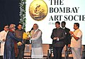 The Prime Minister, Shri Narendra Modi at the Bombay Art Society, in Mumbai.jpg