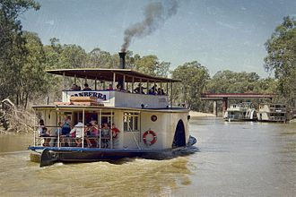 PS Canberra - Image: The River Boat Canberra (8426021363)
