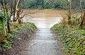 The River Lagan in flood (2) - geograph.org.uk - 664385.jpg