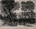 The Royal Naval Hospital, Greenwich. Lithograph by J. D. Har Wellcome V0013326.jpg