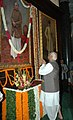 The Speaker, Lok Sabha, Shri Somnath Chatterjee paying homage to late Dr. Shyama Prasad Mukherjee on his Birth Anniversary, in New Delhi on July 06, 2007.jpg
