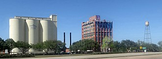Sugar Land, Texas - Sugar Land's former Imperial Sugar refinery