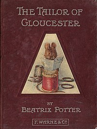 The Tailor of Gloucester first edition cover.jpg
