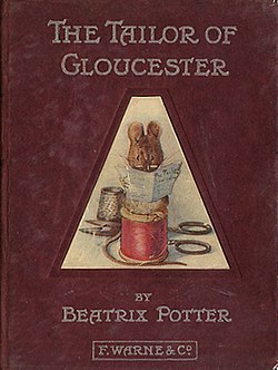 The Tailor of Gloucester first edition cover