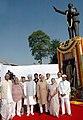 The Vice President, Mohammad Hamid Ansari, the Prime Minister, Dr. Manmohan Singh, the Speaker, Lok Sabha, Shri Somnath Chatterjee, the Chief Minister of Delhi.jpg