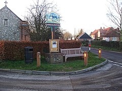 The Village Sign, Hindolveston, Norfolk.jpg