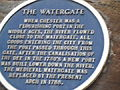 The Watergate blue plaque from below.JPG