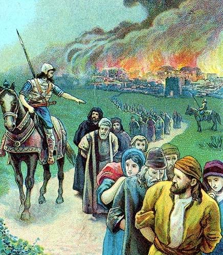 The captivity of Judah