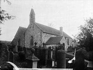The church, Myddfai