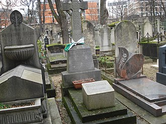 Myles Byrne - The grave in the cemetery Montmartre, 23rd division