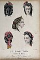 The heads of five women with their hair braided and dressed Wellcome V0019877EL.jpg