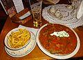 The massive Hungarian Pancake in Zapiecek restaurant. (8121516150).jpg