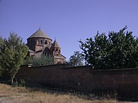 The rampart of the St. Hripsime church 06.JPG