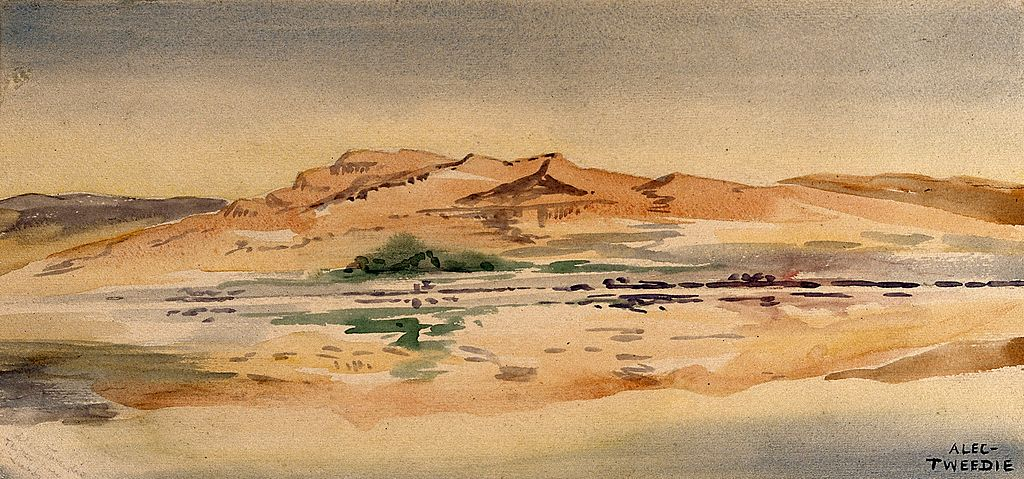 File:Thebes From The Luxor Side Of The Nile, Egypt