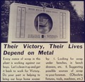 Their Victory, Their Lives Depend on Metal - NARA - 533970.tif