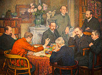 Theo van Rysselberghe The Reading 1903.jpg