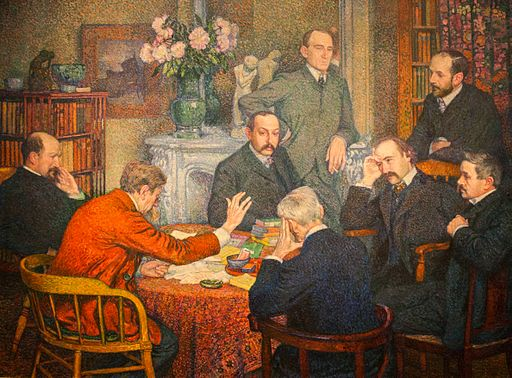 Theo van Rysselberghe The Reading 1903