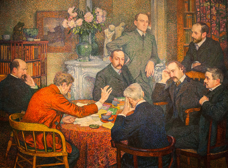 File:Theo van Rysselberghe The Reading 1903.jpg