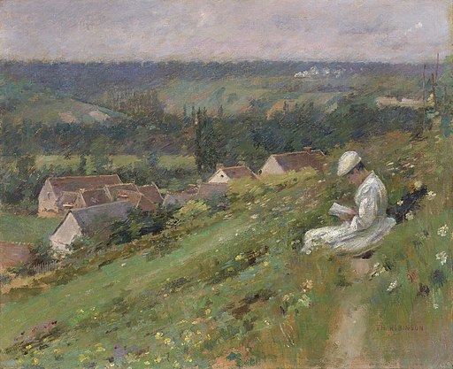 Theodore Robinson - The Valley of Arconville - 1941.11 - Art Institute of Chicago