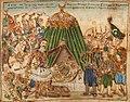 Theophilos Hatzimihail Markos Botsaris in the battle of Karpenissi.jpg